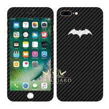 SopiGuard Batman Carbon Fiber Front + Back Skin for Apple iPhone 7 Plus