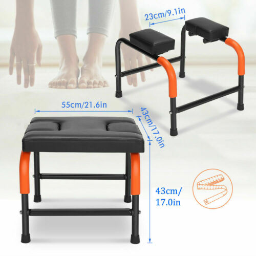 Yoga Headstand Chair Yoga Inversion Bench Home Gym Workout Fitness Training