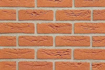 Klinker Vereinigt Handform-verblender Wdf Bh980 Rot-orange Klinker Vormauersteine Eine GroßE Auswahl An Farben Und Designs