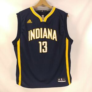 3cff1ab36f806 Details about Adidas Swingman Paul George # 24 Indiana Pacers Youth Jersey  XL 45