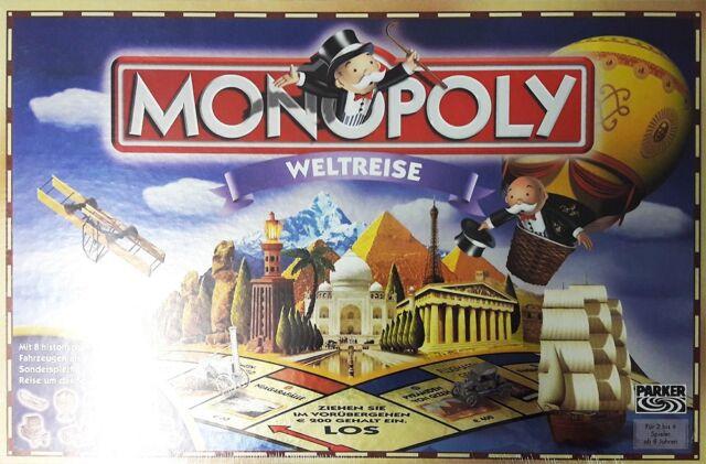 GW71ed Hasbro 48285100 - Monopoly Weltreise