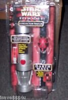 Star Wars Episode 1 Darth Maul Collector Watch With Lightsaber Display Case
