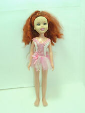 Mattel Wee 3 Friends doll Lila red hair pink dance ballet outfit