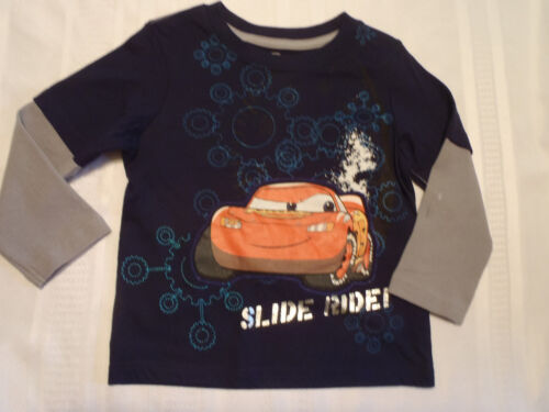 DISNEY Cars Boys 3T 4T or Size 24 Month Long Sleeve Shirt Top NWT