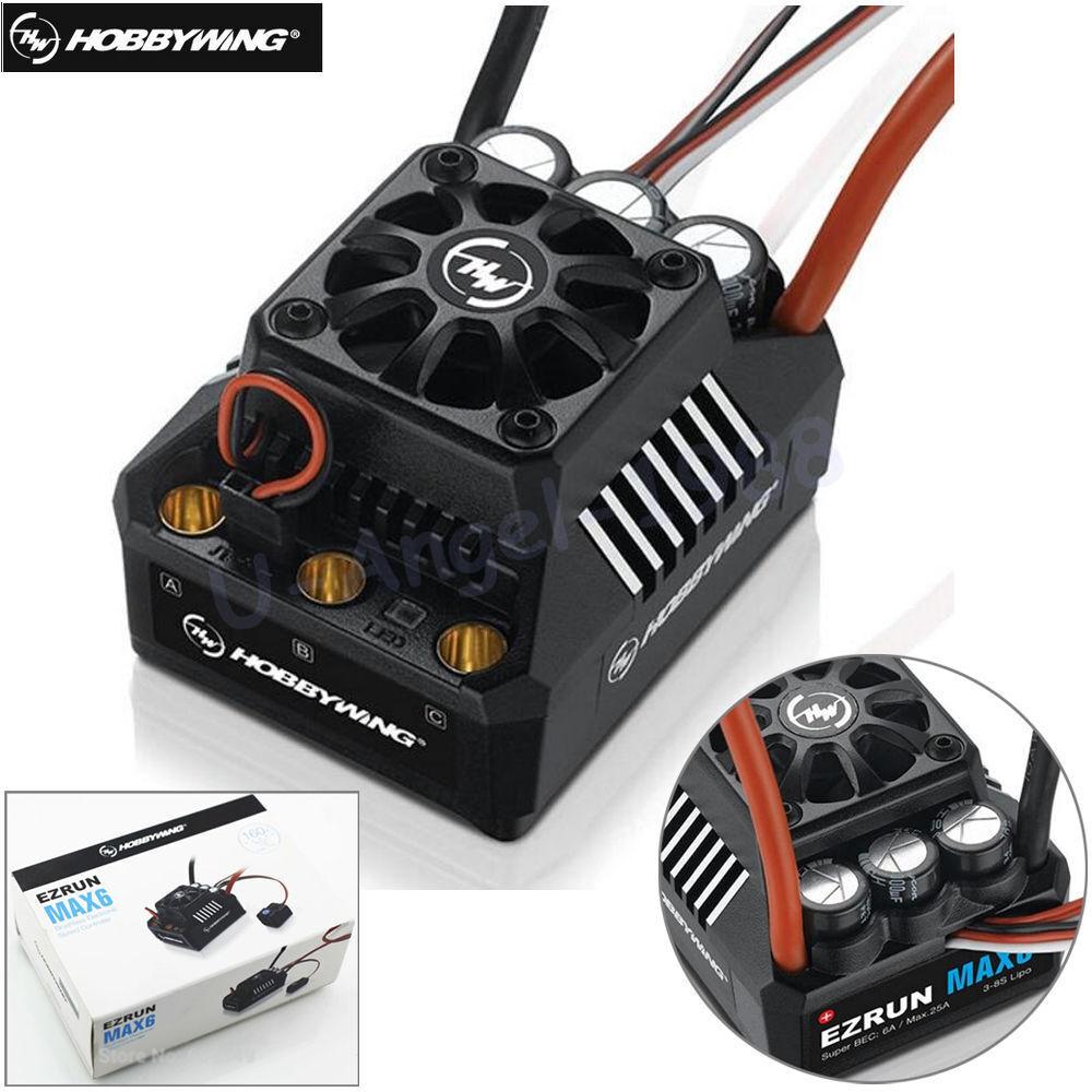 Hobbywing EZRUN MAX-6 V3 160A Drehzahlregler ESC mit Super BEC für 1 6 Auto    Online einkaufen