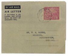 U150 1953 Jamaica Cross Roads CDS Northampton GB Cover {samwells-covers}PTS