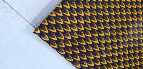 Ankara Superwax Africano Tela 100/% algodón colores vibrantes 1 yarda