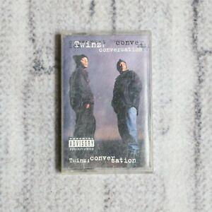 Twinz Conversation Cassette Tape 1995 Def Jam  Records West Coast Gangster Rap