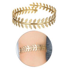 Wirbelblatt Oberarm Ring Mädchen verstellbare Armband Armreif Manschette