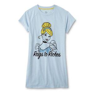 Image is loading Cinderella-Plus-Size-3X-Womens-Nightgown-Disney-Princess- d72f4dece