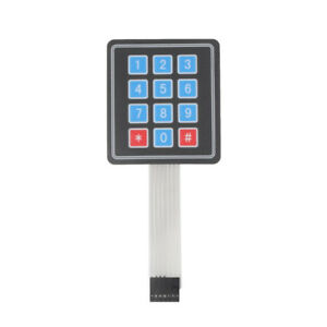 Relays 1x3/1X2/1X5 Matrix Array 3Key/2Keys Membrane Switch Keypad Keyboard BBC General Purpose Relays
