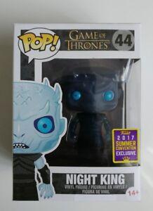 Funko Pop a obtenu le titre de Game Of Thrones Night King Sdcc 2017 Juego De Tronos