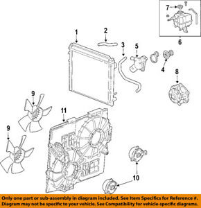 Cadillac GM OEM Seville-Radiator Coolant Overflow Tank Recovery Bottle 25635588
