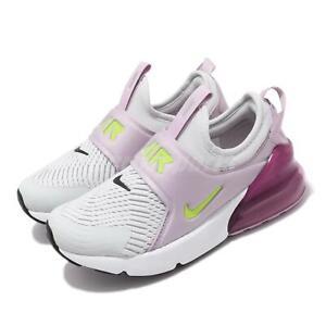 diseño distintivo descuento especial de entrega gratis Nike Air Max 270 Extreme PS Blanco Violeta Preescolar Niños ...