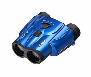 Nikon-Binoculars-ACULON-T11-8-24x25-Porro-Prism-Blue-from-Japan