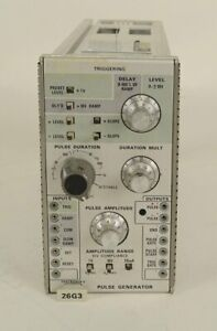 Tektronix-26G3-Pulse-Generator-Operational-Amplifier-Plug-Ins-VERY-RARE-AS-IS-3