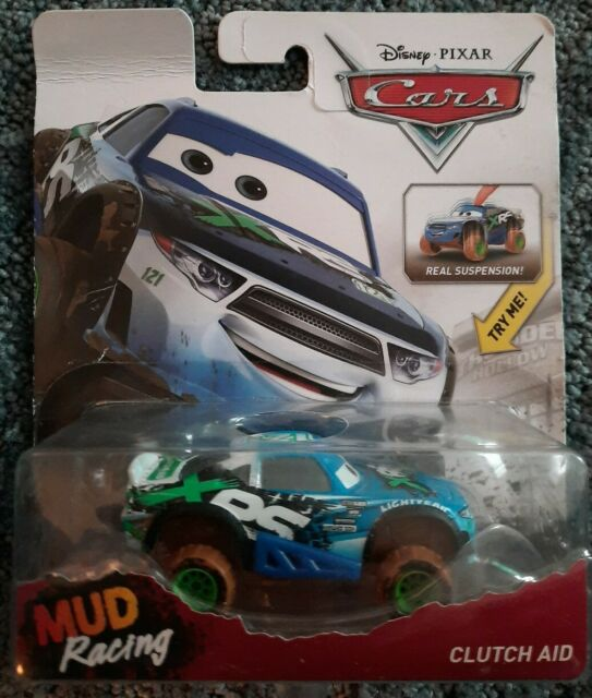 DISNEY PIXAR CARS XRS MUD RACING PHIL TANKSON NITROADE DIE CAST SAVE 6/% GMC