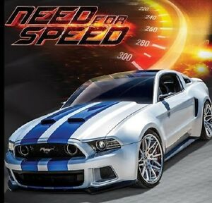 Maisto-1-24-Need-For-Speed-2014-Ford-Mustang-GT-Street-Racer-Diecast-Model-Car