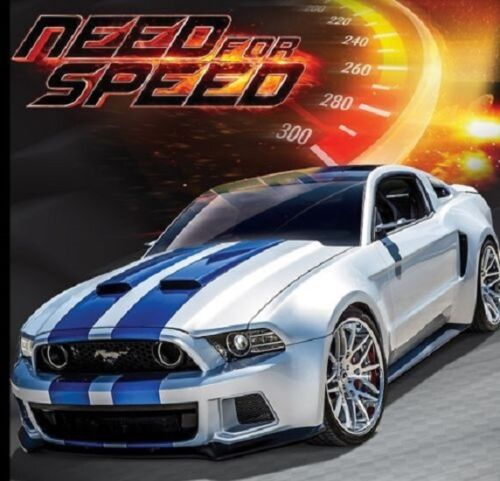 Maisto 1:24 Need For Speed 2014 Ford Mustang GT Street Racer Diecast Model Car