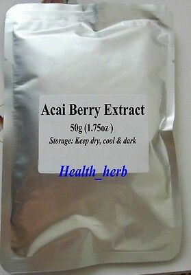 Acai Berry 10:1 Extract Powder, High Quality, Free Shipping