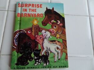 Surprise-In-The-Barnyard-A-Rand-McNally-Book-1952-VINTAGE-Children-039-s-Hardcover