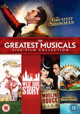 The Greatest Musicals Five-Film Collection (DVD) Hugh Jackman, Rebecca Ferguson