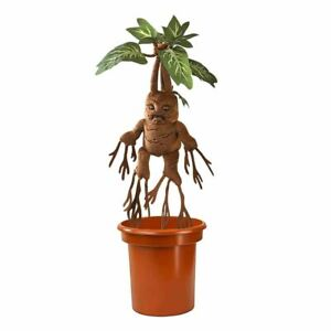 Harry Potter Mandrake Interactive Plush Soft Toy Replica with Pot - Noble