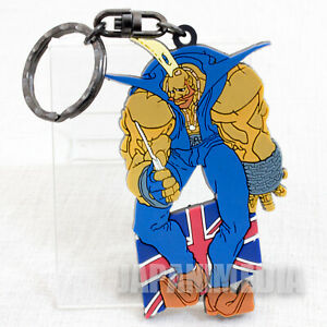 RARE-Street-Fighter-ZERO-Birdie-Rubber-Mascot-Key-Chain-JAPAN-GAME-CAPCOM