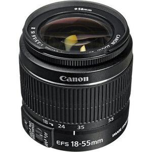 Marke-NEU-Canon-EF-S-18-55mm-IS-II-Objektiv-fuer-Canon-DSLR-Zoomobjektiv