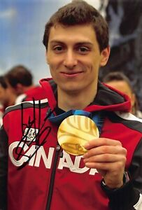 Guillaume Bastille - CAN - Olympia 2010 - Shorttrack - GOLD - Foto sig. (10)