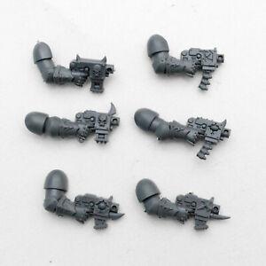 ObéIssant Chaos Space Marines Boulon Pistolets X 6-g2036-afficher Le Titre D'origine 50% De RéDuction