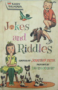 JOKES AND RIDDLES 1963 Easy Reader Wonder Book Jonathan ...