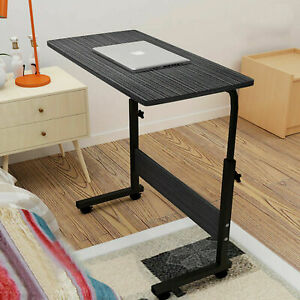 Height Adjustable Notebook Laptop Computer Desk Portable Table Sofa Bed Tray US