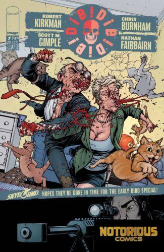 Die Die Die #7 Image Comics 1st Print EXCELSIOR BIN