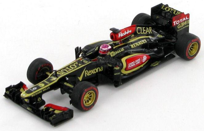 Lotus E21 Renault Heikki Kovalainene GP EE. UU. 2013 1 43 - S3071