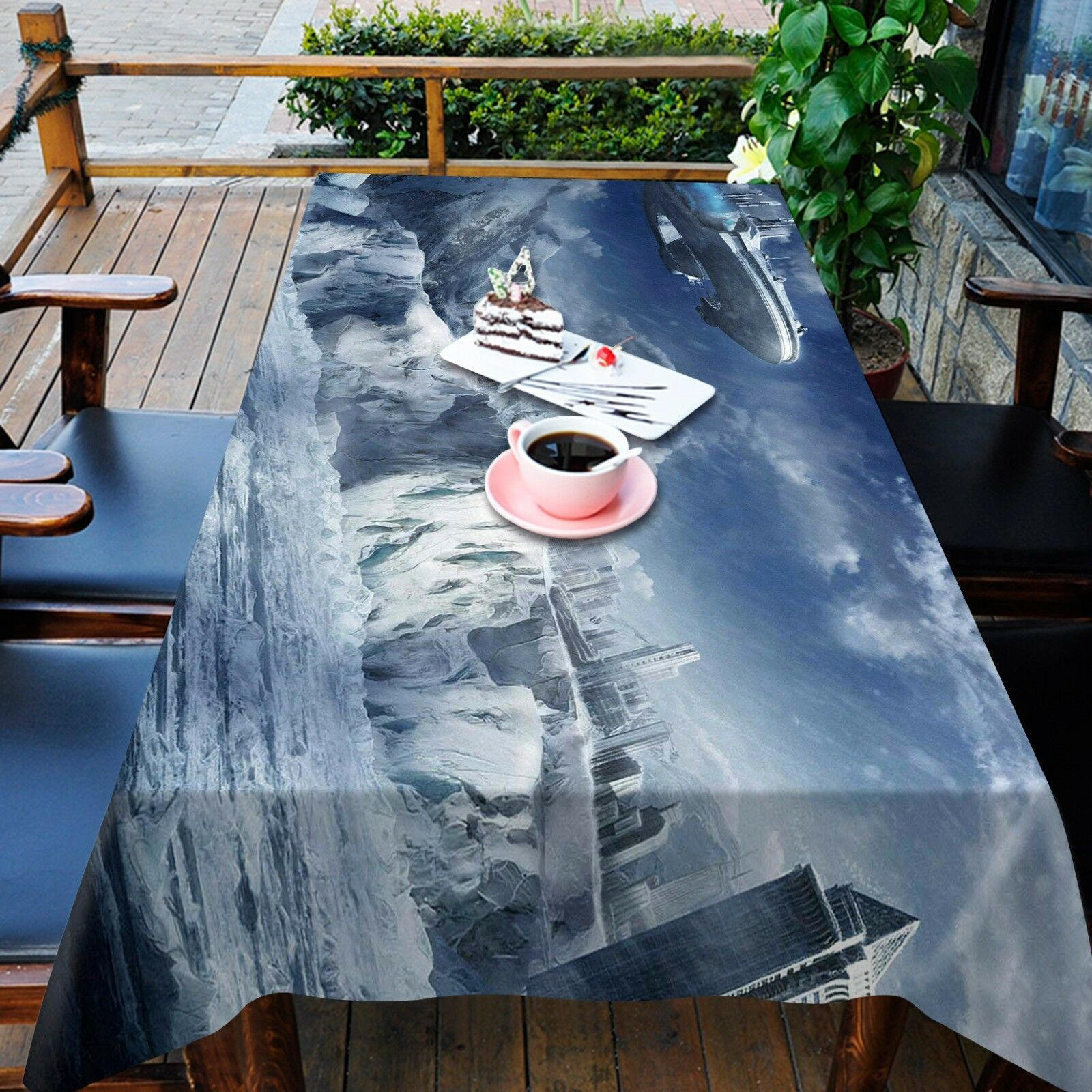 3D Scene 4744 Tablecloth Table Cover Cloth Birthday Party Event AJ WALLPAPER AU