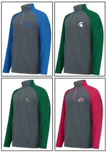 J America NCAA mens Alpha 1//4 Zip Sweatshirt