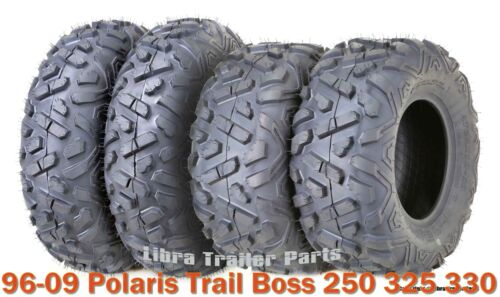 23x7-10 /& 22x10-10 ATV Tire Set for 96-09 Polaris Trail Boss 250 325 330