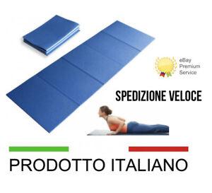 Stuoia-pieghevole-Materassino-Tappetino-Fitness-Yoga-Pilates-Aerobica-182-CM