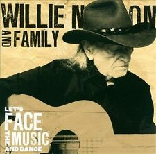 Let's Face The Music and Dance Willie Nelson MUSIC CD
