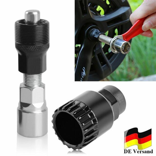 1set Tretlager Kurbelabzieher Kurbel-Abzieher Fahrradwerkzeug Reparatur U3Z5
