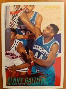 Carte Fleer Collection Basketball 🏀 1994 1995 Hornets #24 Kenny Gattison