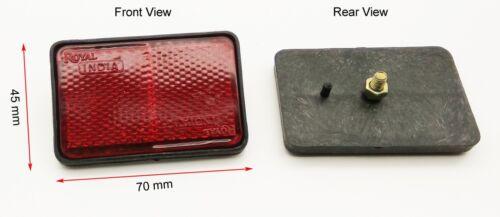 Reflector Red Amber Reflect Garage Door Fence Adhesive Trailer Caravan Driveway