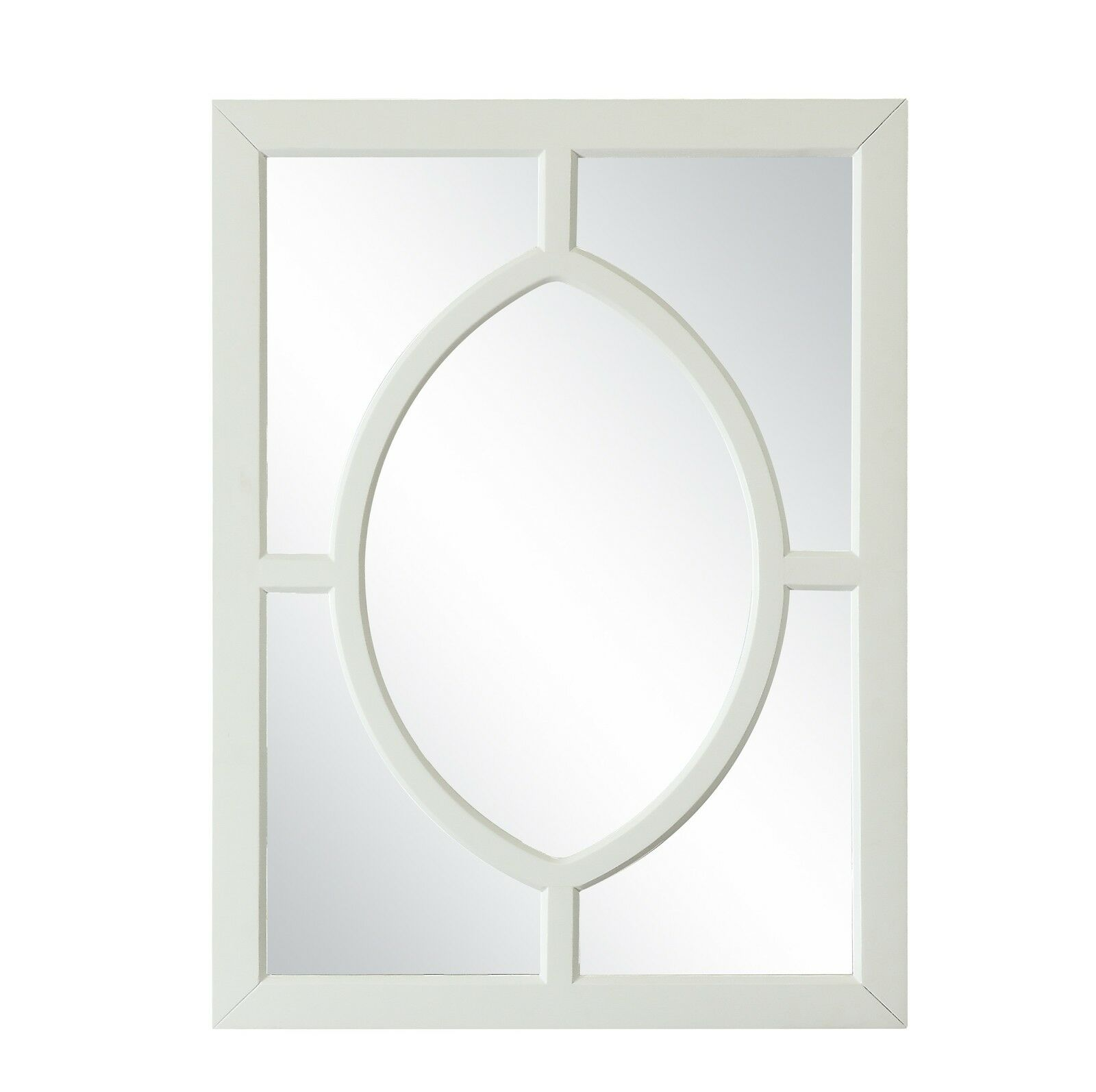 40  T Wall Mirror  Weiß Marble Plywood 5mm With 3 4 Bevel Mirror 0 2