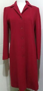 Ladies Blend Taglia Berghaus Overcoat Length Menuetto 12 Cashmere Red Full rgw7qOxBr
