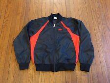 Boys' VTG 1985 Nike Air Jordan I 1 Wings Logo Bred Windbreaker Jacket sz M