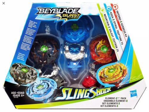 Hasbro Beyblade Burst Deluxe Element X Multi Pack US Seller