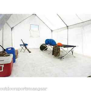 12 X 10 Canvas Tent Frame Floor Weather Treated Outfitter