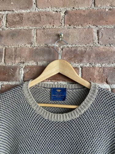 Inis Meain Men's Sweater, Sz XL Ireland Cotton/Lin