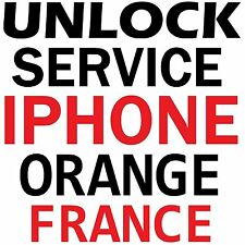 Orange France iPhone Premium Unlock Service SE 6S+ 6S 6+ 6 5S 5C 5 4S 4 3GS